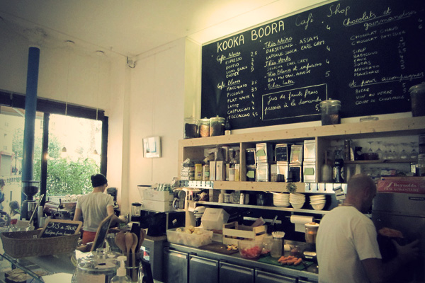 One girls search for good coffee in paris…
